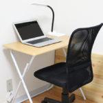 一人暮らしで使いやすい、激安でかさばらないニトリの折りたたみ机