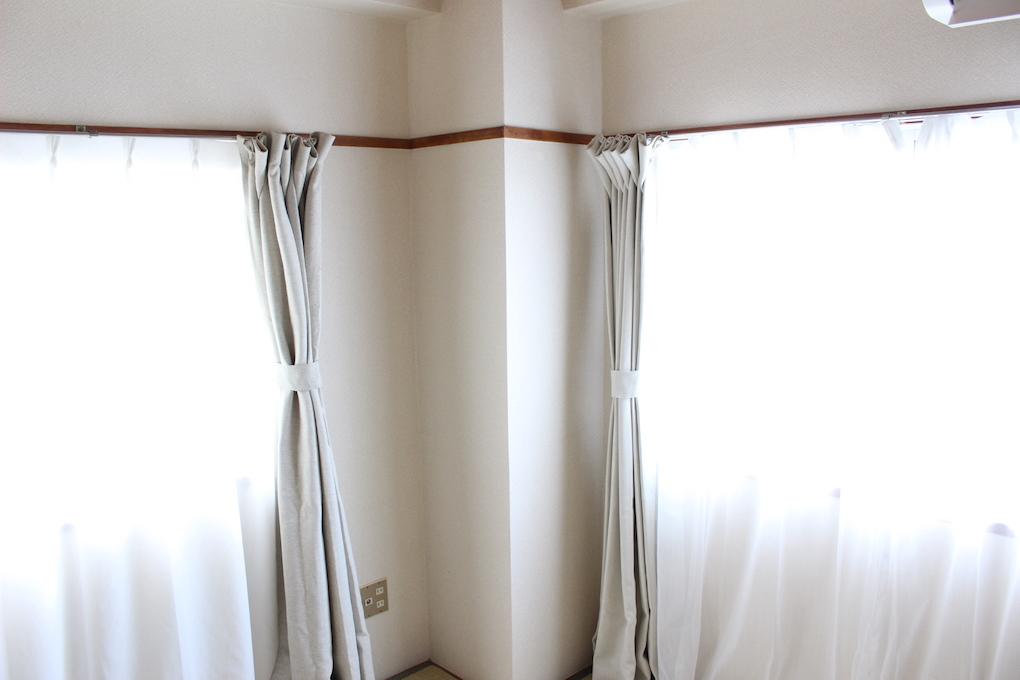 無印良品 スラブボイルカーテン - 「少ない物ですっきり暮らす」大分の整理収納・ライフオーガナイザーやまぐちせいこ