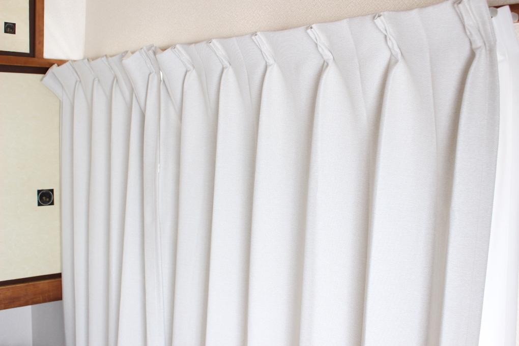 ムジルシリョウヒン(MUJI (無印良品))の無印オーダープリーツカーテン